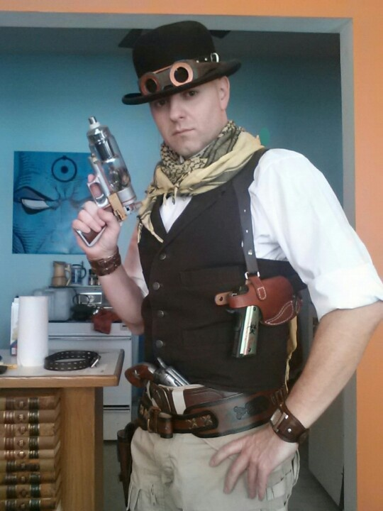 Easy steampunk costume steam punk costumes pinterest for Easy steampunk ideas