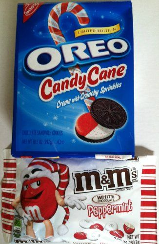 Candy Cane Peppermint Oreos Cookies Plus Peppermint White Chocolate ...