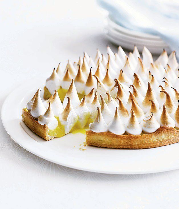 Lemon meringue pie - Gourmet Traveller | Food -Desserts | Pinterest