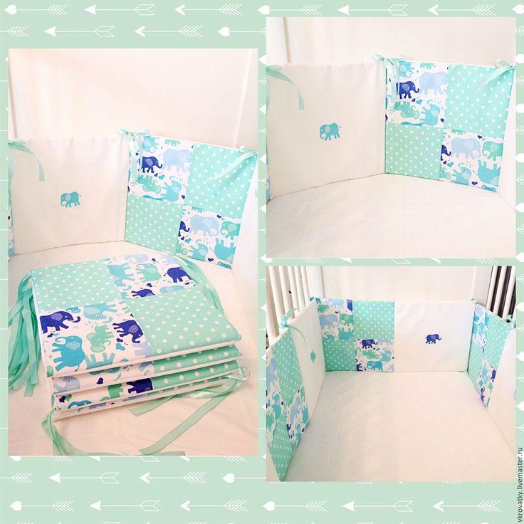 Подушка в кроватку для новорожденного