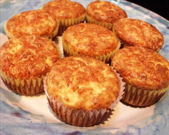 Sun-Dried Tomato and Cottage Cheese Muffins (Vegetarian) | Recipe