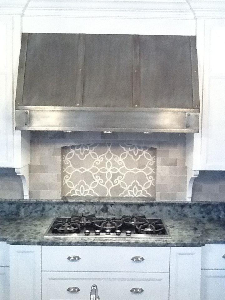 Artistic Tile Backsplash Kitchens Pinterest