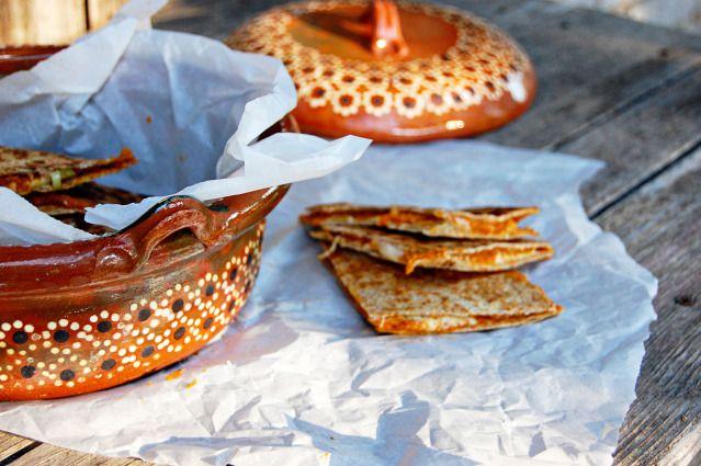 Pumpkin Quesadillas | Food | Pinterest