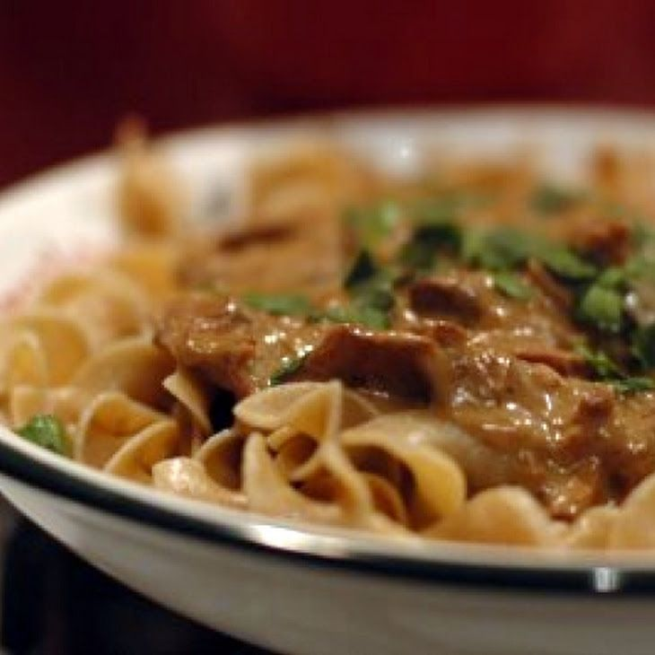 Beef Stroganoff III Recipe | Food | Pinterest