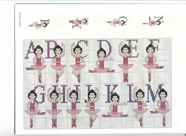 alfabeto ballerina 1