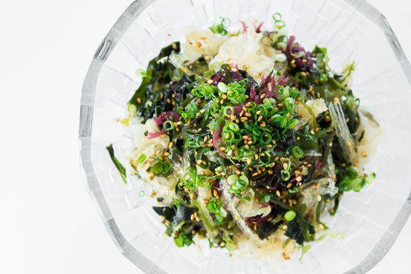 Seaweed Salad recipe from Marc Matsumoto via http://www.pbs.org/food ...