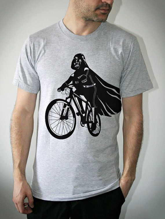 Darth Vader on a bike. I want it!!