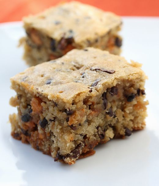Maple Blondies with Butterscotch and Cocoa Nibs - foodgal.com. These ...