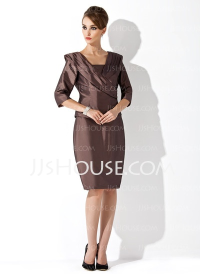 Mother of the Bride Dresses - $113.59 - Sheath Strapless Knee-Length ...
