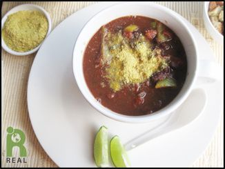 Spicy Black Bean Soup | REAL Recipes: Soups | Pinterest