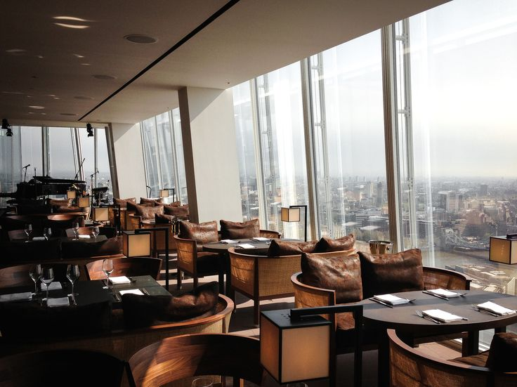 Oblix restaurant the shard london ristoranti nel mondo for Restaurants at the shard