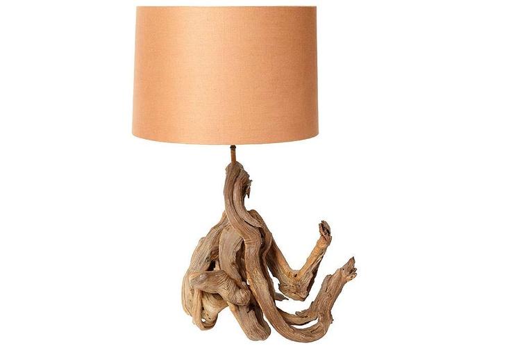 driftwood lamp. Black Bedroom Furniture Sets. Home Design Ideas