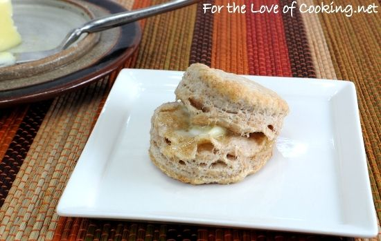 Flaky Whole Wheat Buttermilk Biscuits | Bread & Floury Things | Pinte ...