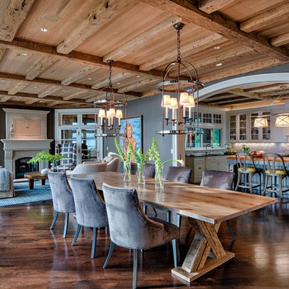 Open Kitchen And Dining Room Design Ideas Pictures Remodel And