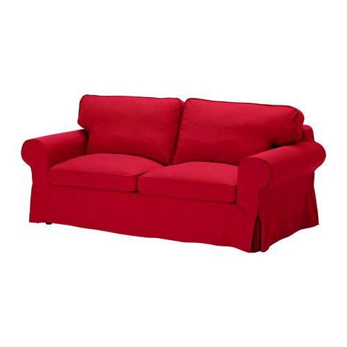 EKTORP Sofa Bed Idemo Red IKEA Living Room Pinterest