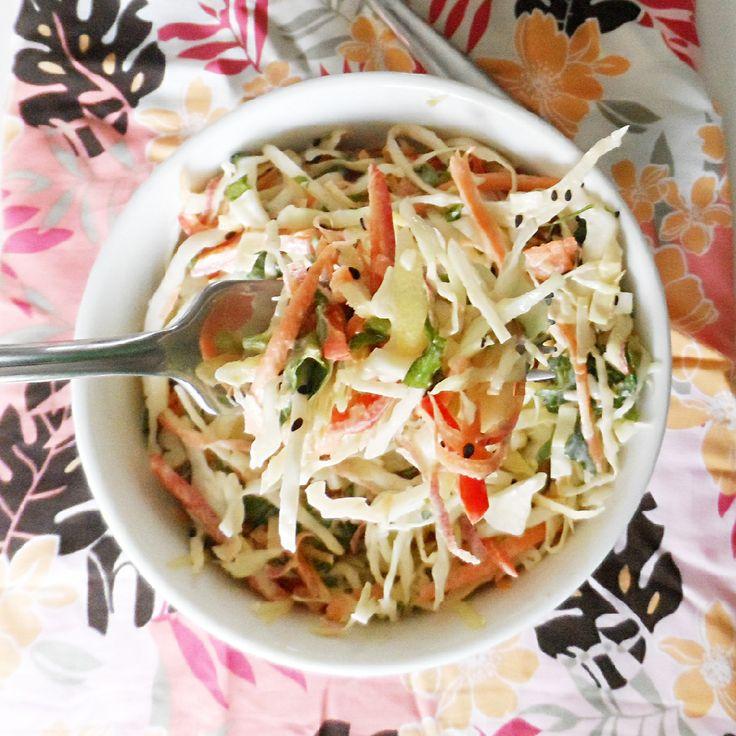 Miso Ginger Coleslaw | Food – Vegetables | Pinterest