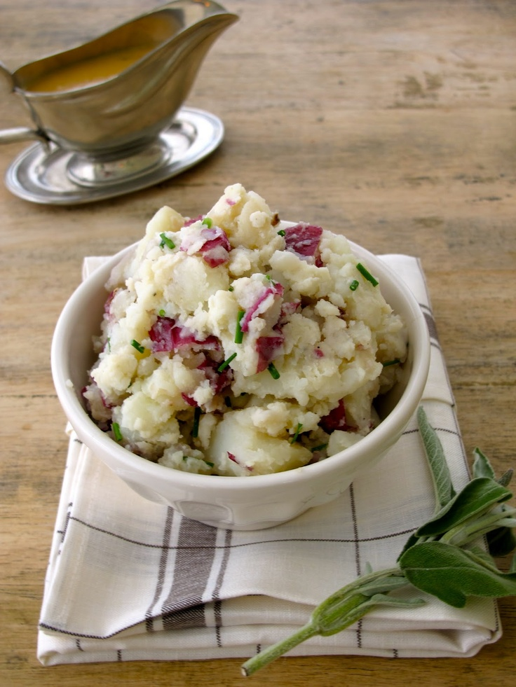 Chive mashed potatoes for Thanksgiving   Thanksgiving!   Pinterest