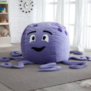 Octopus Critter Foam Bean Bag Chair
