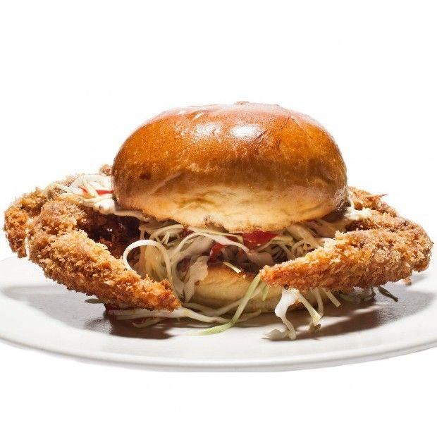 Fried Soft-Shell Crab Sandwich Recipe - Bon Appétit