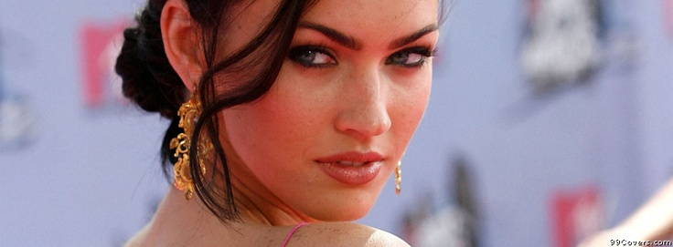 Megan Fox 59 Facebook Covers