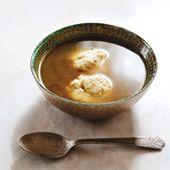 Vegetarian Matzah Ball Soup - Sauce Magazine