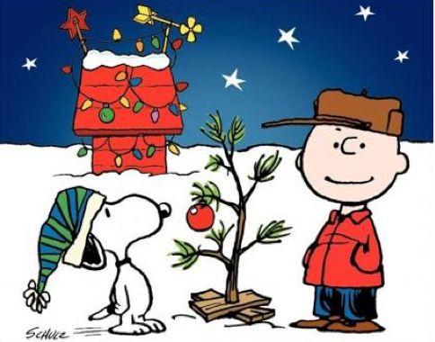 Το χριστουγεννιάτικο δένδρο του Σνούπυ...