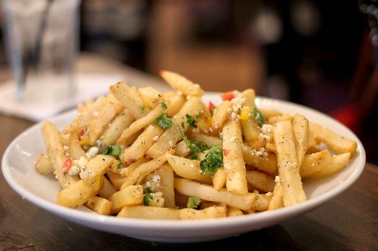 Garlic Feta Fries!! | In the kitchen | Pinterest