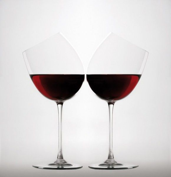 unique wine glasses glass pinterest