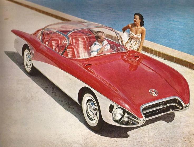 1956 Buick Centurion Concept Car Transport Pinterest