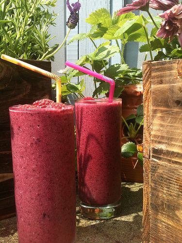 Complexion Smoothie.  Helps with great skin and hair