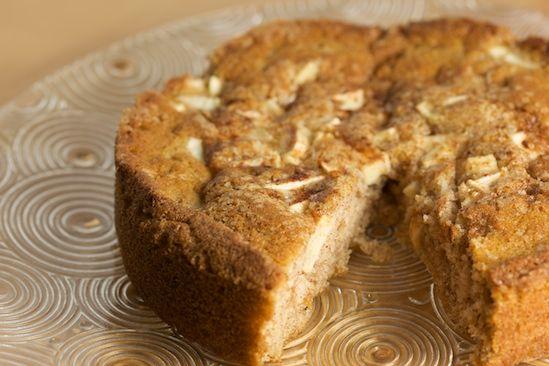 Apple Cinnamon Buttermilk Cake, Cut | cakes | Pinterest