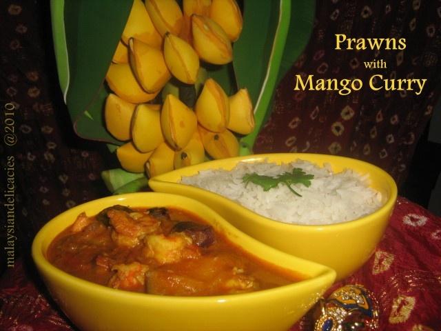 Malaysian Prawns with Mango Curry | Malaysian/Singaporean Cuisine | P ...