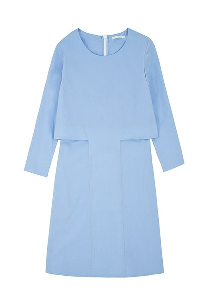 Cos stores sky blue   http://www.steelemystyle.com/2012/01/20/embrace-pastels/