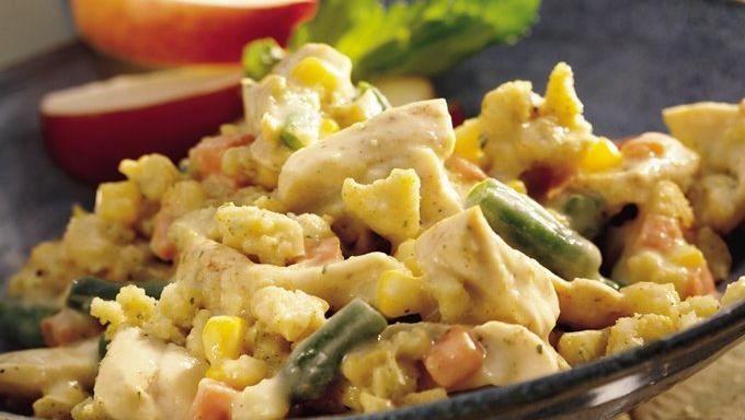 Chicken and Cornbread Stuffing Casserole | Recipe