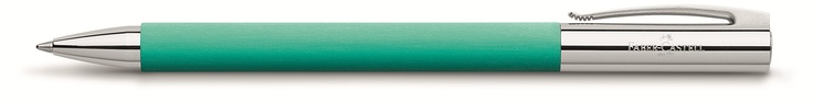 Faber-Castell - 148168 Ambition Pacific Green Ballpoint
