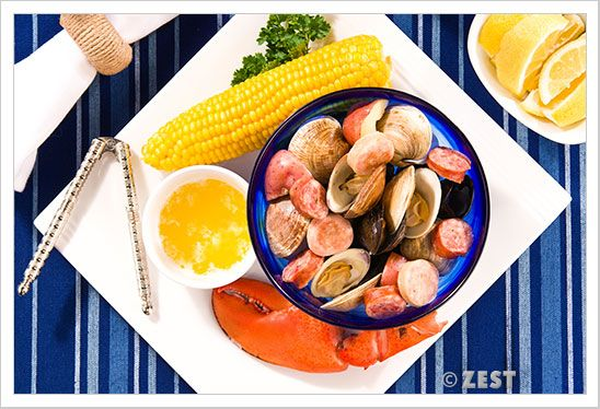 Stovetop Clambake from MyGourmetConnection.com