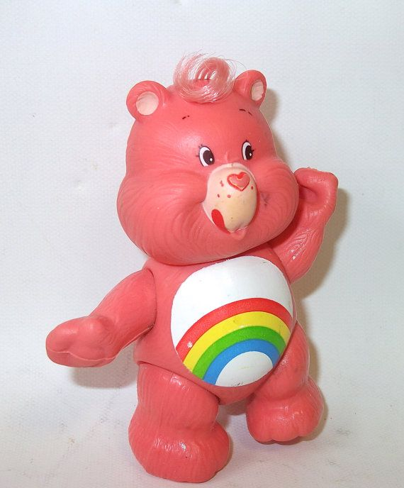 Toys For Cheerleaders : Vintage cheer care bear doll figure toy