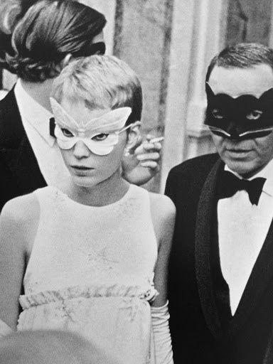 Mia Farrow And Frank Sinatra