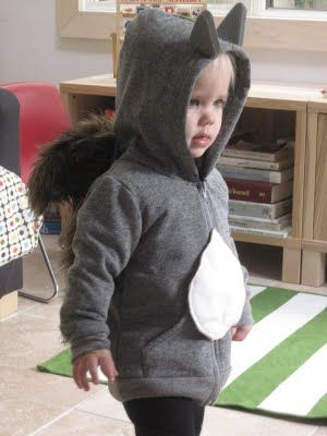 Squirrel hoodie?