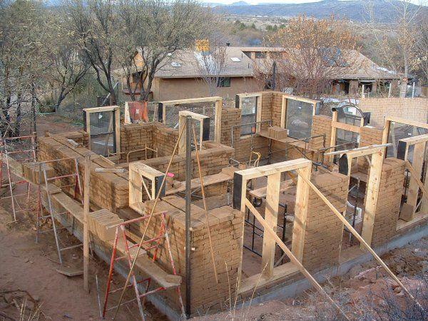 Как своими руками построить саманный дом своими руками 47