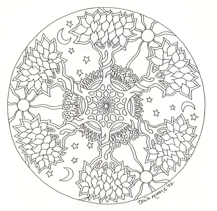 google images mandala coloring pages - photo#33