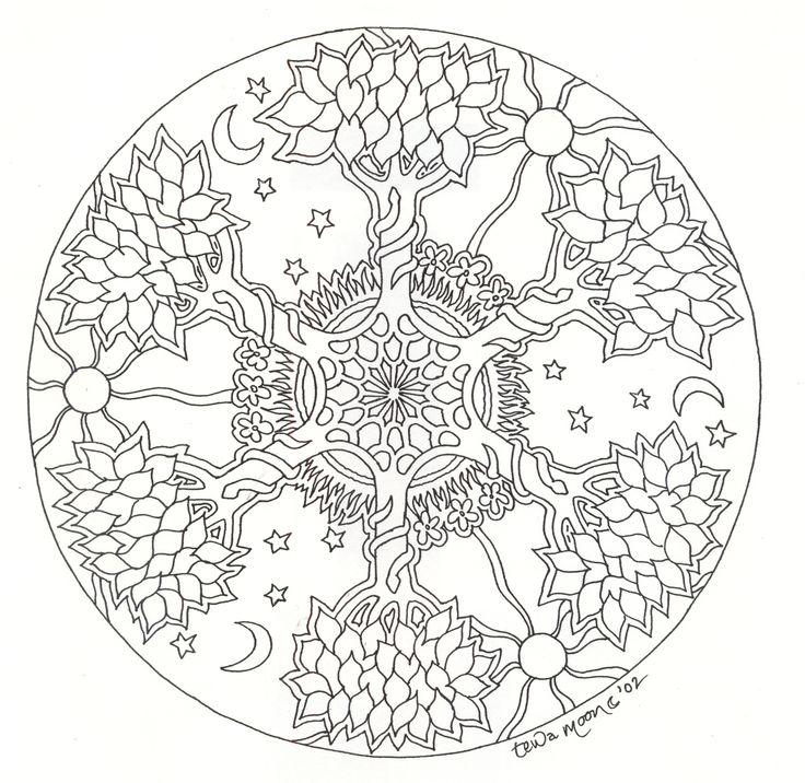 google images mandala coloring pages - photo#33