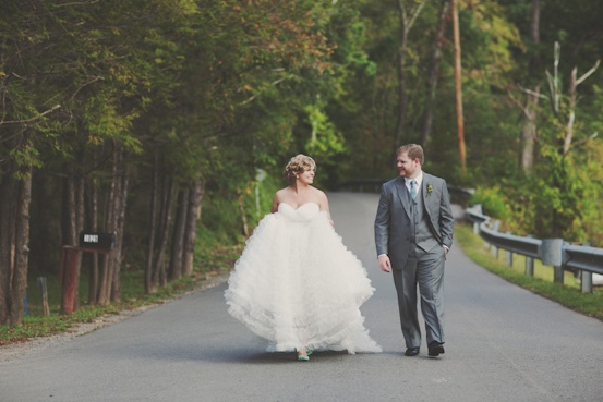 #Wtoo #wedding #dress by Chellise Michael Photography