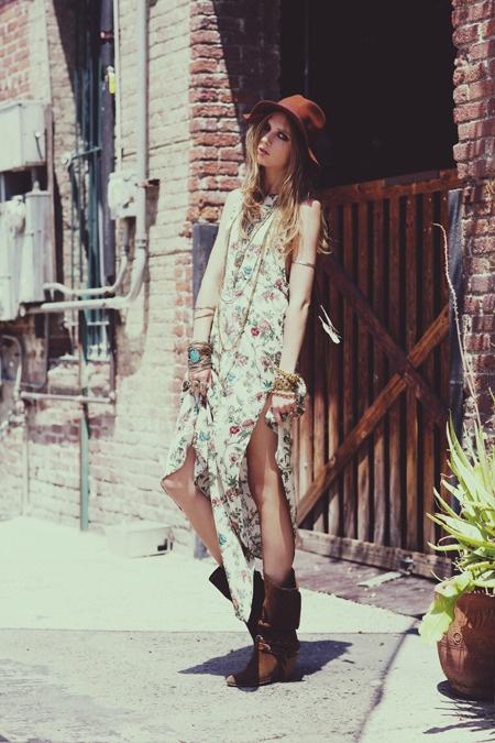 Abby Dress   Anna Iaryn   Zoey Grossman #photography   For Love and Lemons   #bohemian #boho #hippie #gypsy