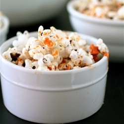 Sriracha Ranch Popcorn | Food | Pinterest