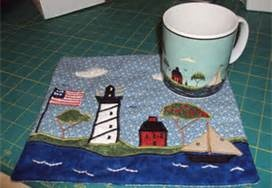 Tutorial Tuesday: Hexy Mug Rug Tutorial | SewHappyGeek