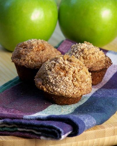 Pumpkin Apple Streusel Muffins | Recipe