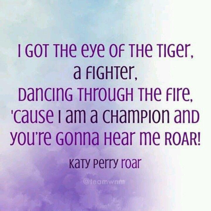 Roar ~ Katy Perry | Music & Lyrics | Pinterest