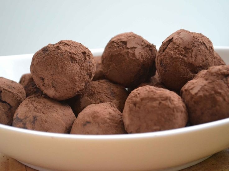 An easy chocolate truffle recipe for Valentine's Day