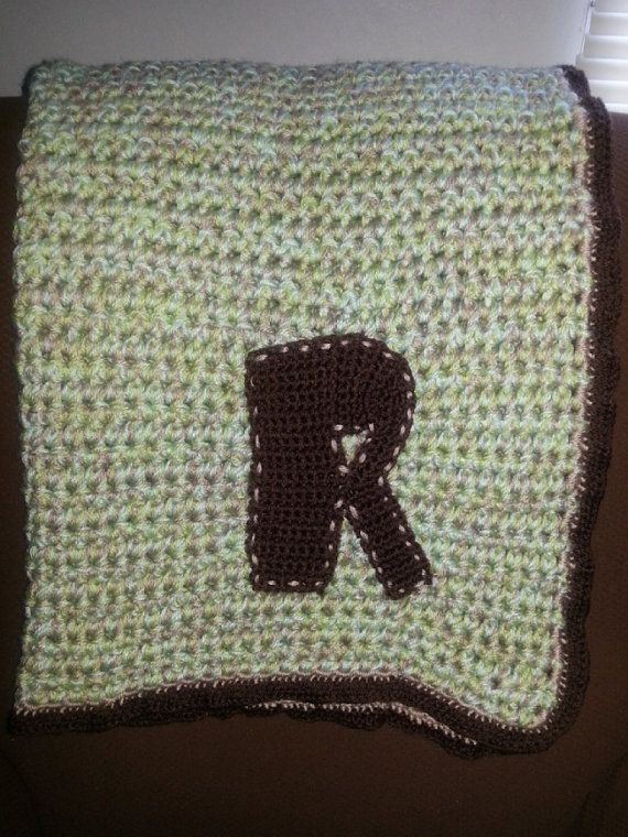 Crochet Patterns For Thick Blankets : Thick Crochet Blanket